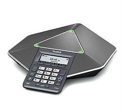 A Yealink conference phone