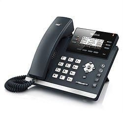 A Yealink office phone