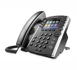 A Polycom office phone